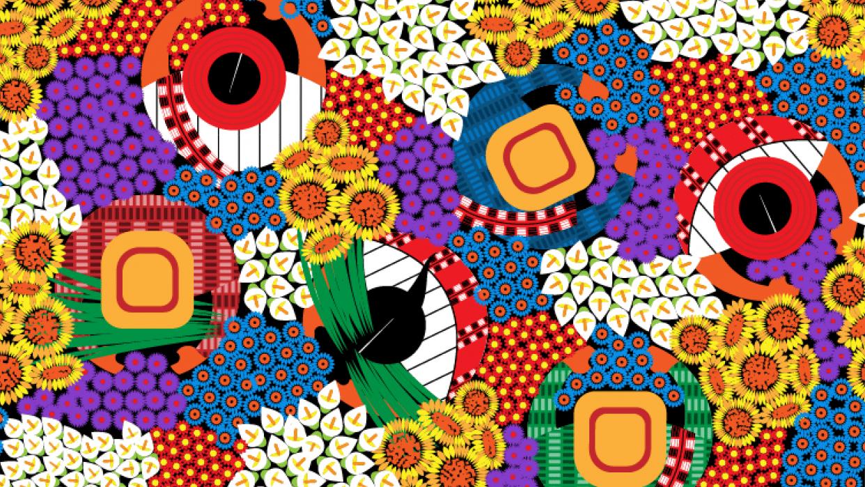 Guatemalan pattern - student project