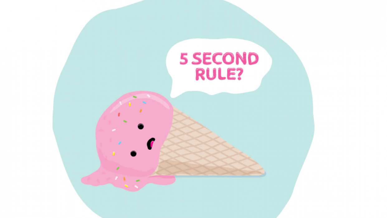 5 second rule? :( - student project