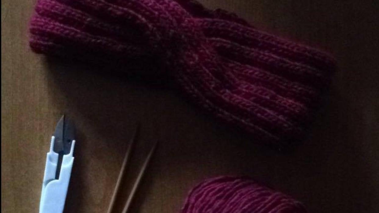 Single twist headband  - student project