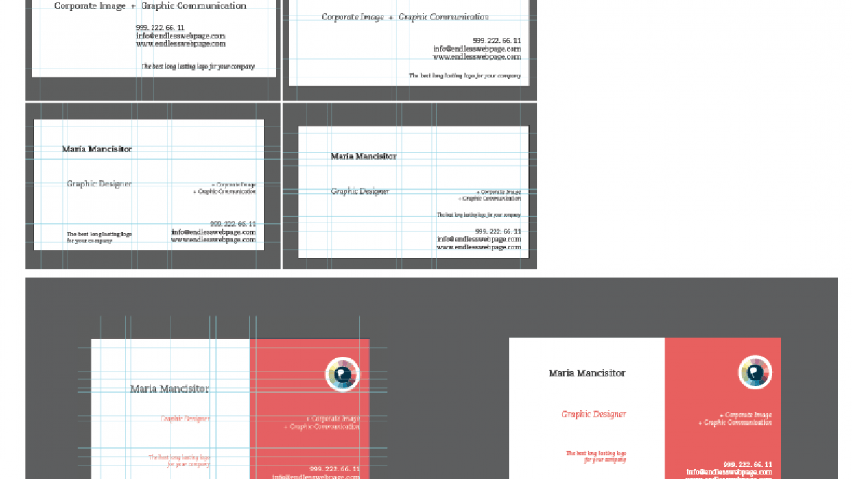 Business Card  - student project