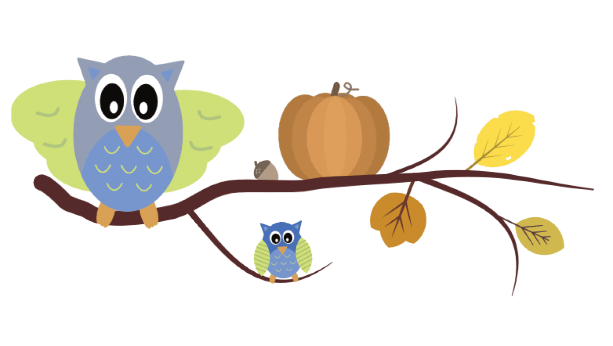 Fall Clipart Project - student project