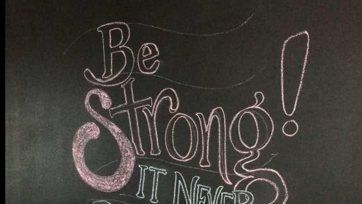 Be Strong - student project