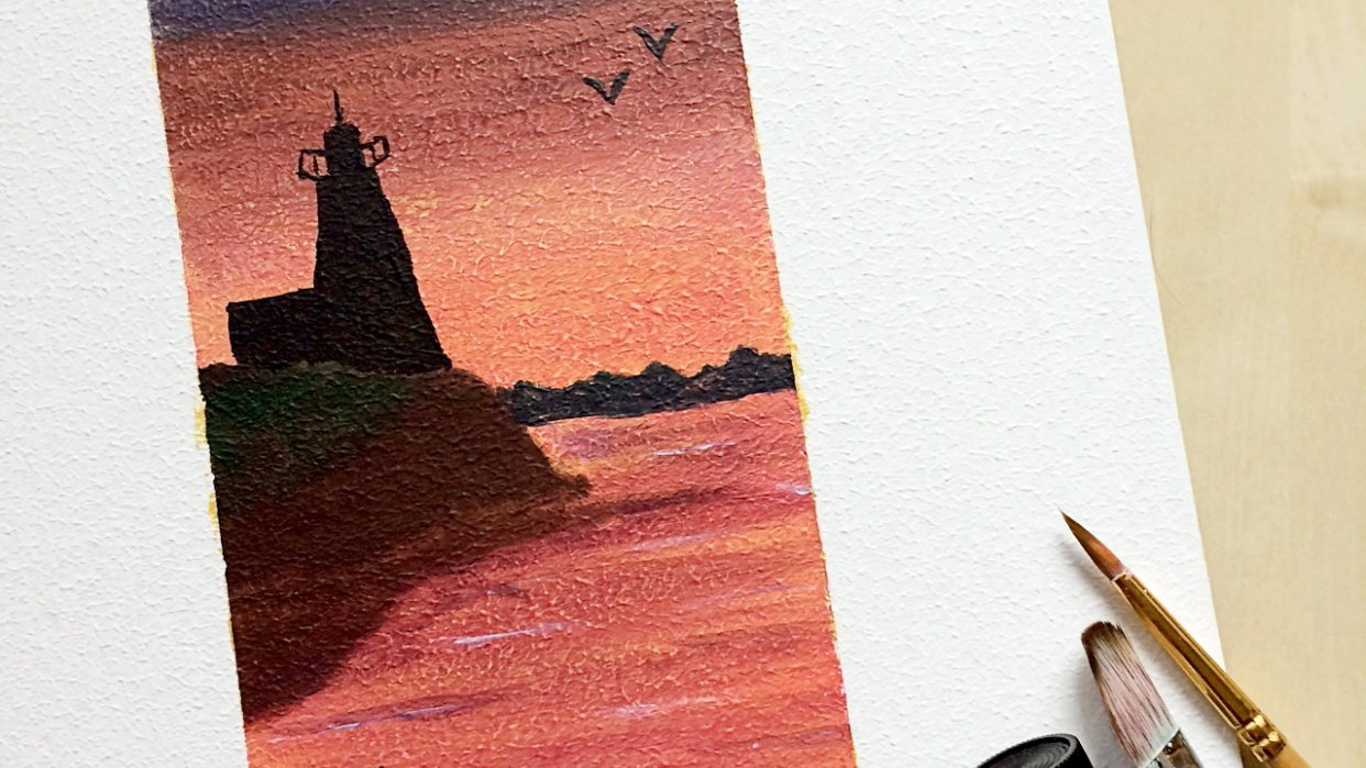 Lighthouse - student project