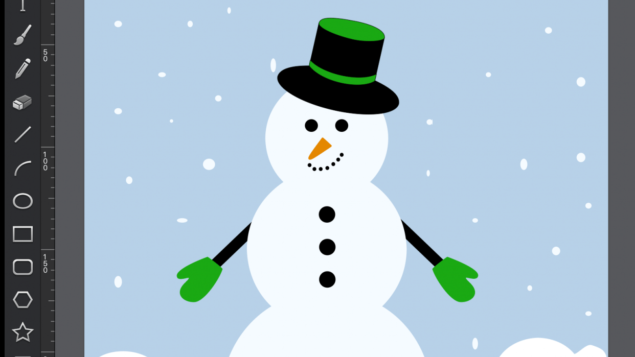 Snowman - student project