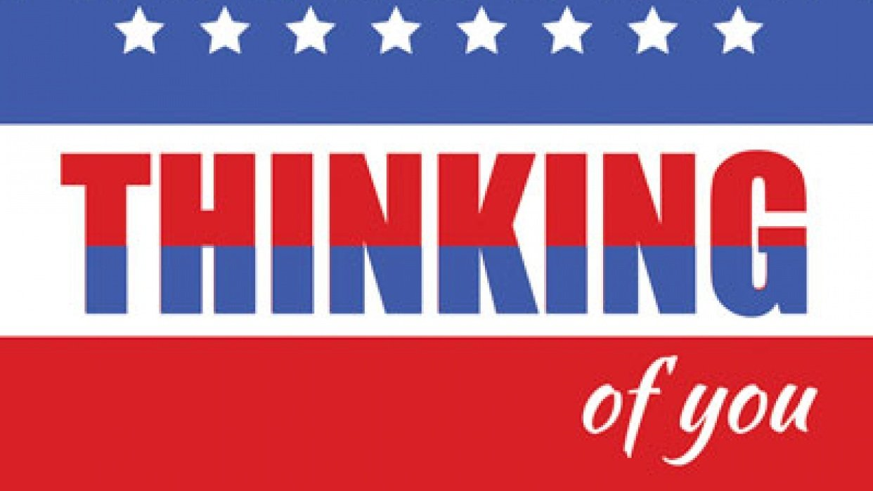 Thinking of you Patriotic - student project
