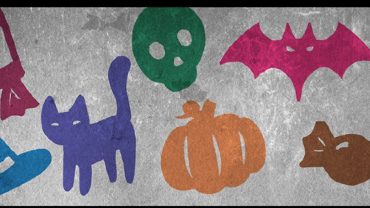 Halloween Brushes - student project