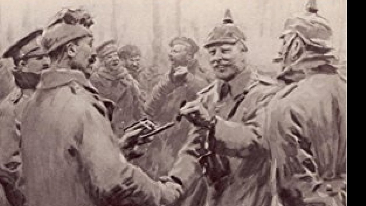 The Christmas Truce - student project