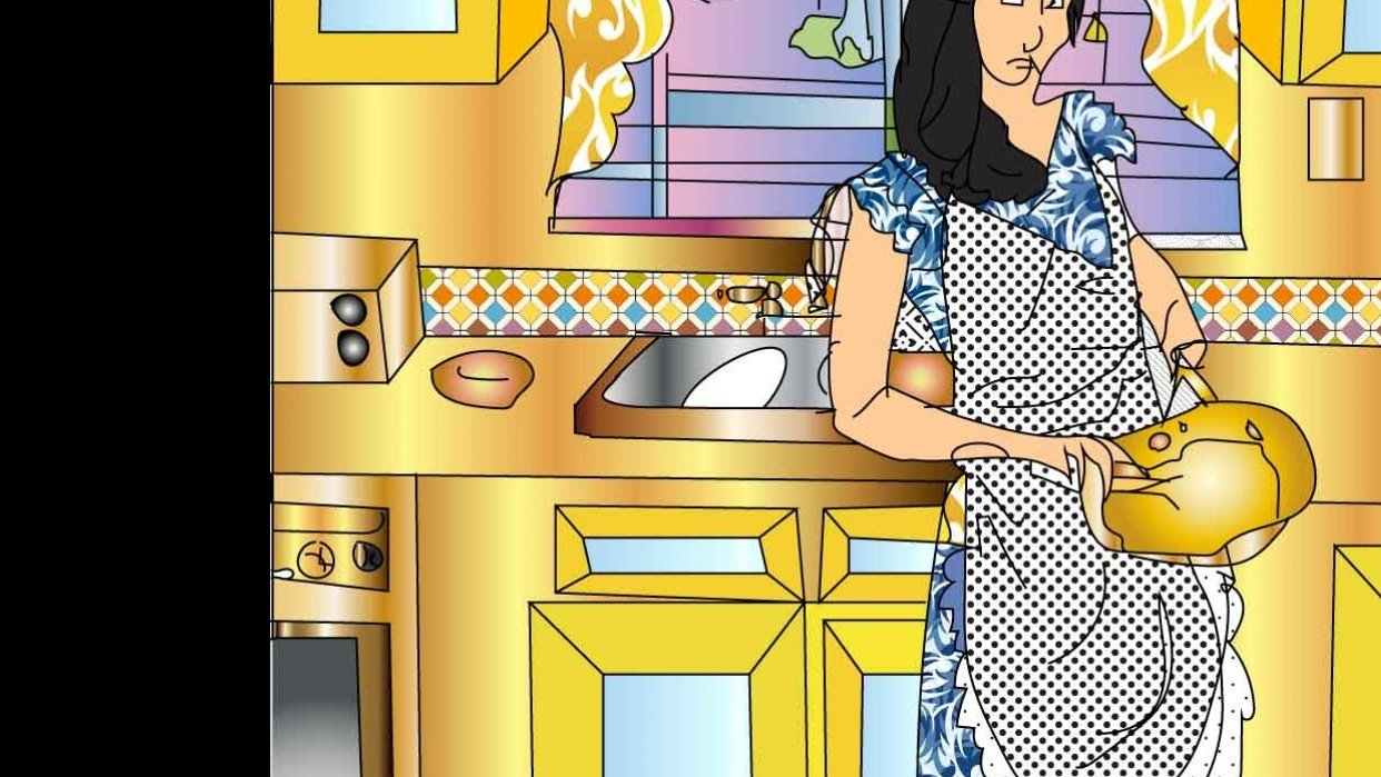 -in the kitchen -  - student project
