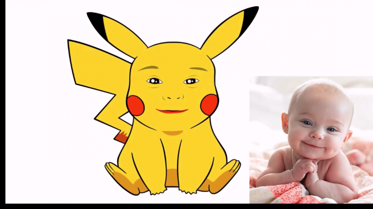 Just Published - Learn to design your face into Pikachu face with Photoshop  - student project