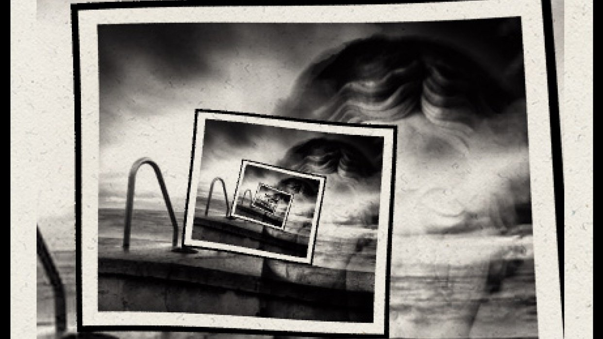 Mimmo Jodice photo collage - PhotoSpiralysis App - student project