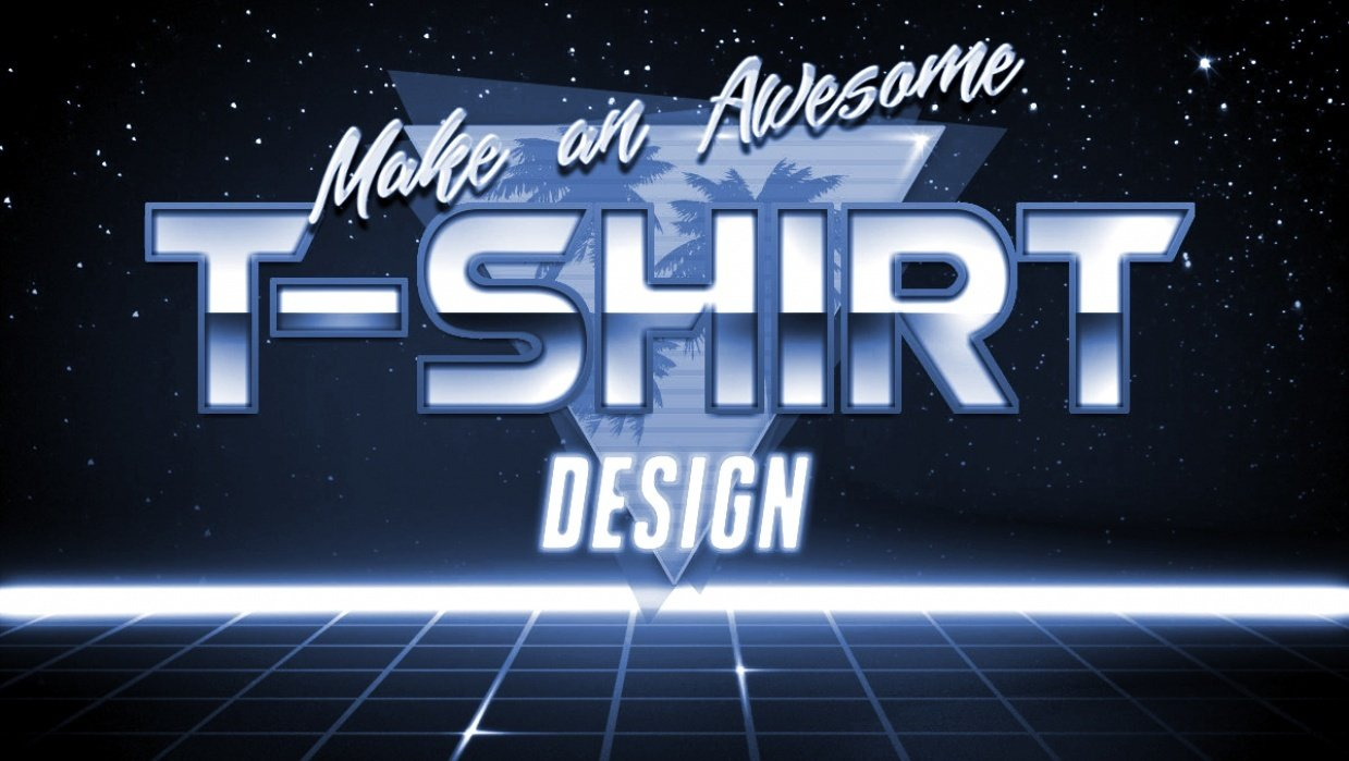 How to Make a Tee Design - student project
