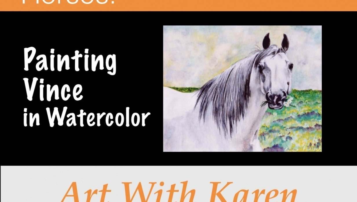 Horses: Painting Vince for 2017 Teach Challenge - student project