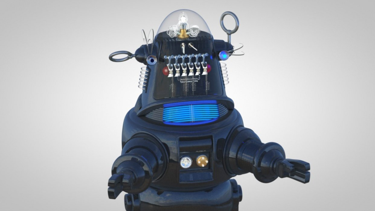 Robby the Robot - student project