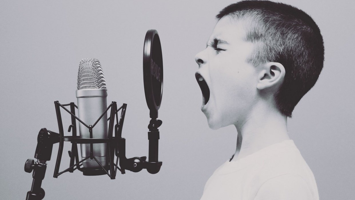 Record Your Voice Without Microphone - student project