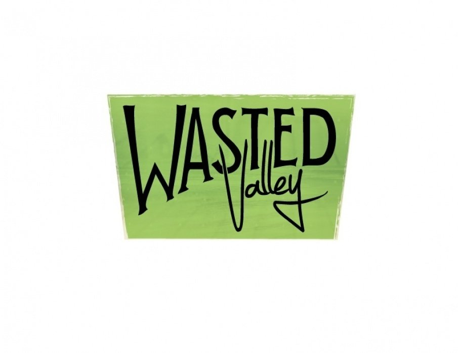 Wasted Valley Logo - student project
