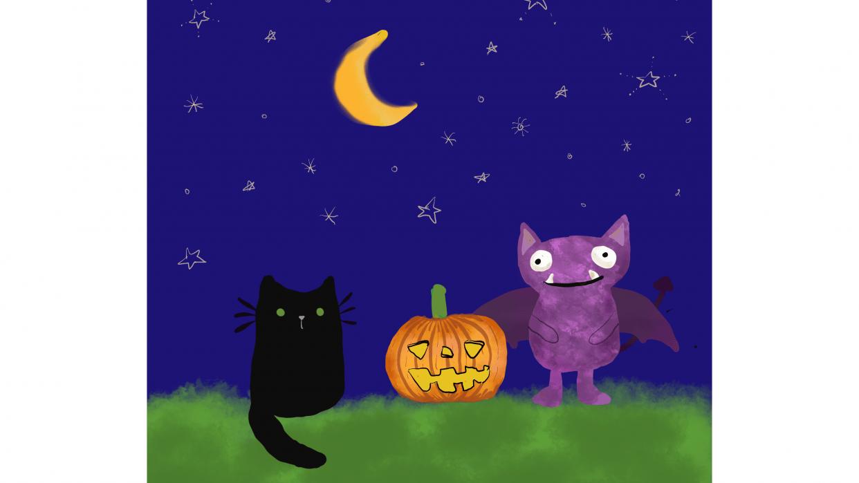Halloween monster - student project