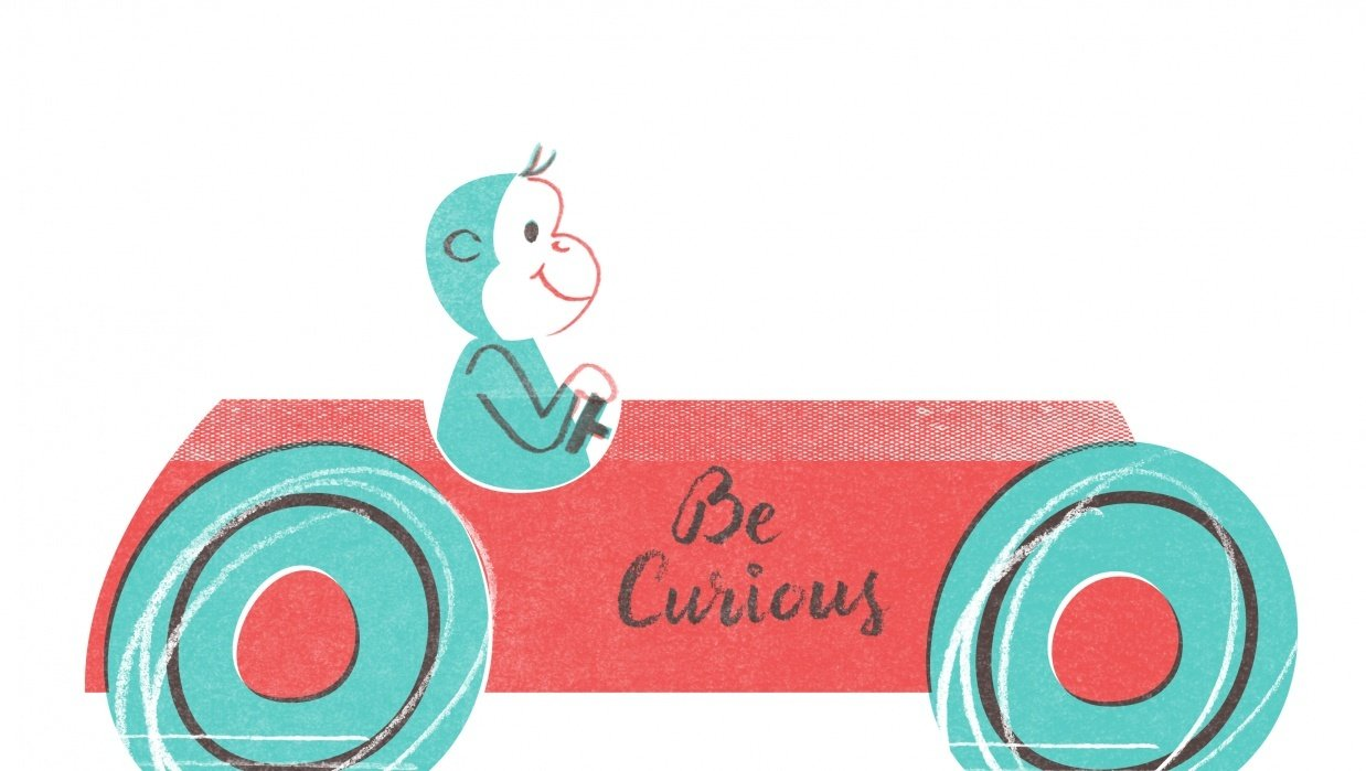 Be Curious - student project