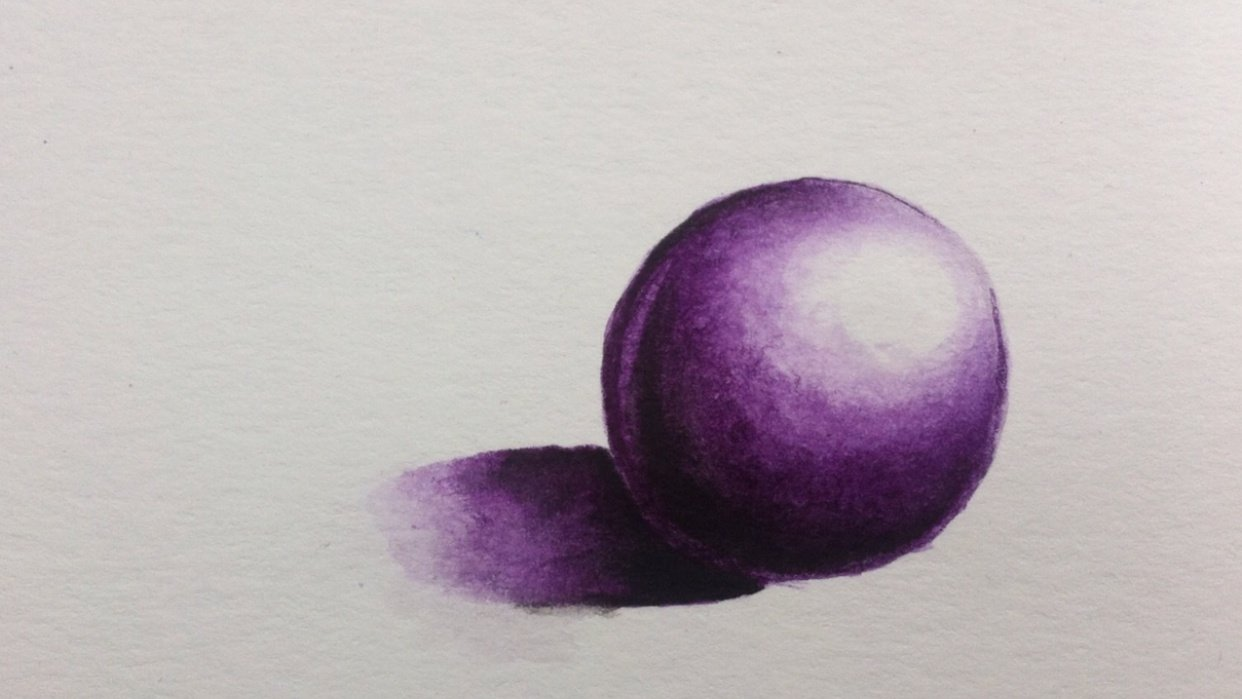 Purple Sphere - student project