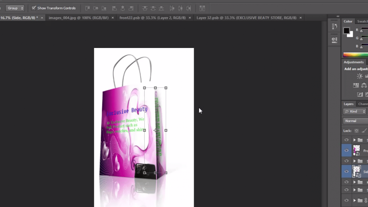 I'll Teach You How To Use Photoshop - student project