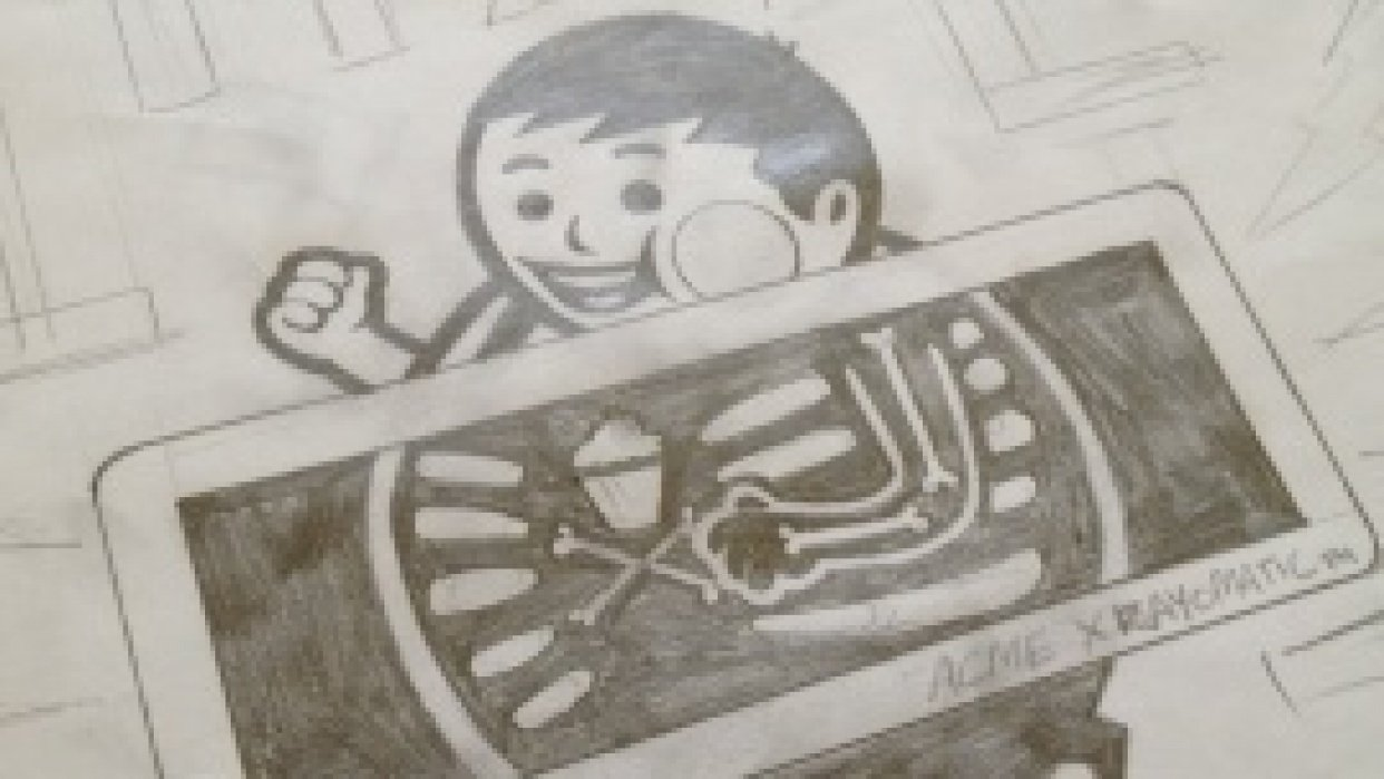 Big Kid - X-Ray - student project