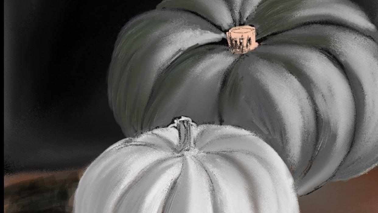 My Grey Tone Pumpkins - student project