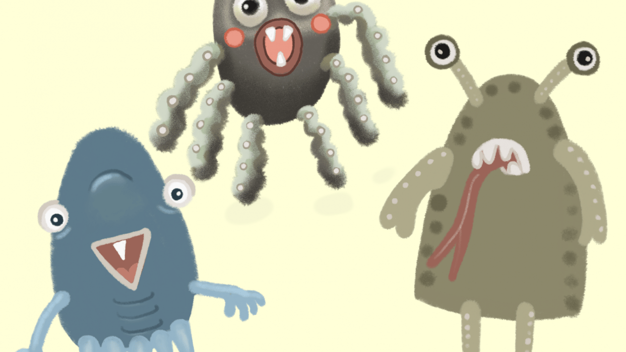 Three Little Monsters - student project