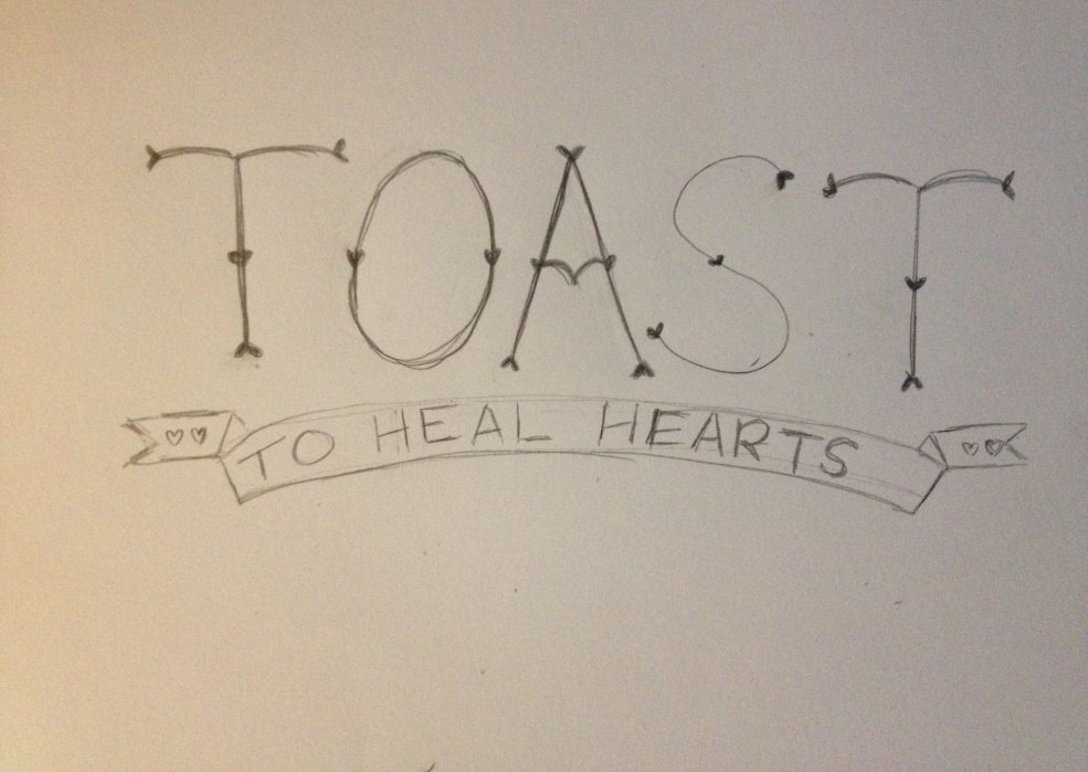 Toast to Heal Hearts - student project