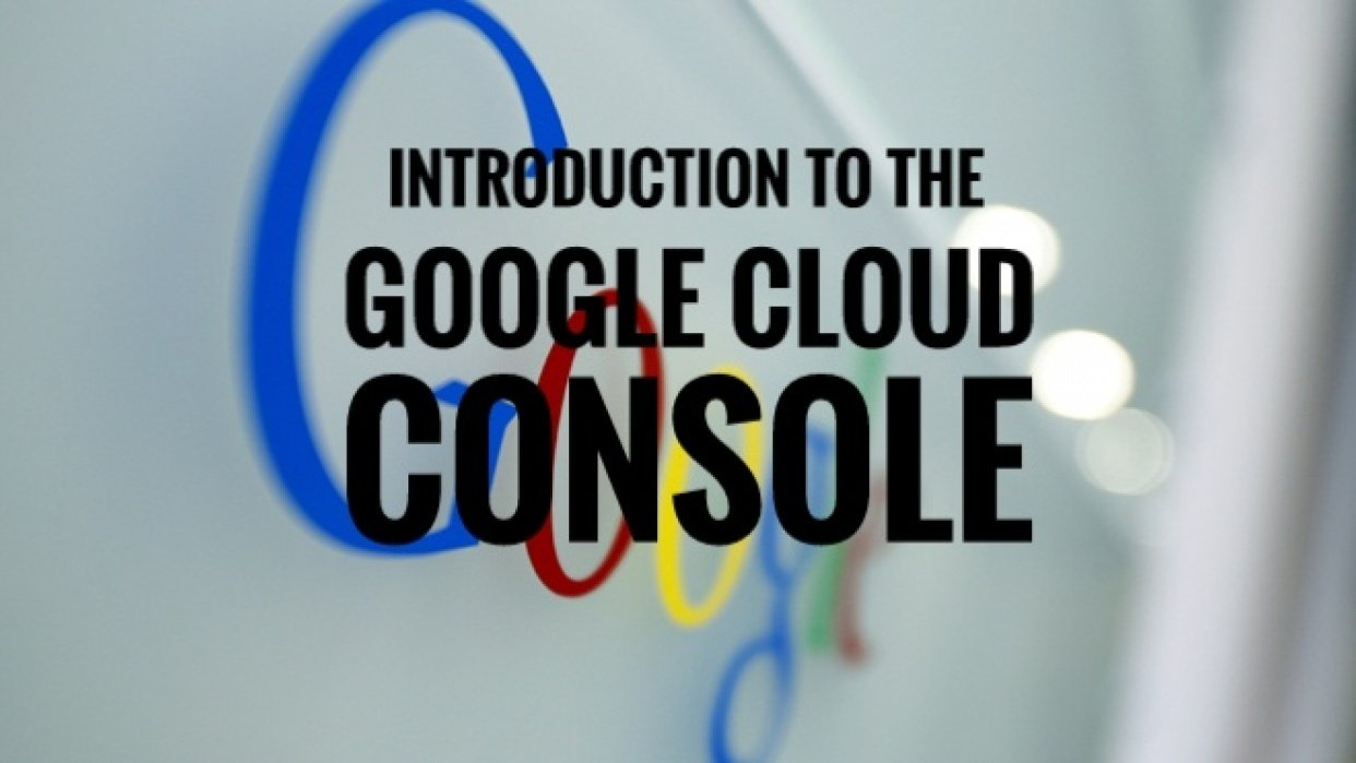 Introduction To The Google Cloud Console - student project