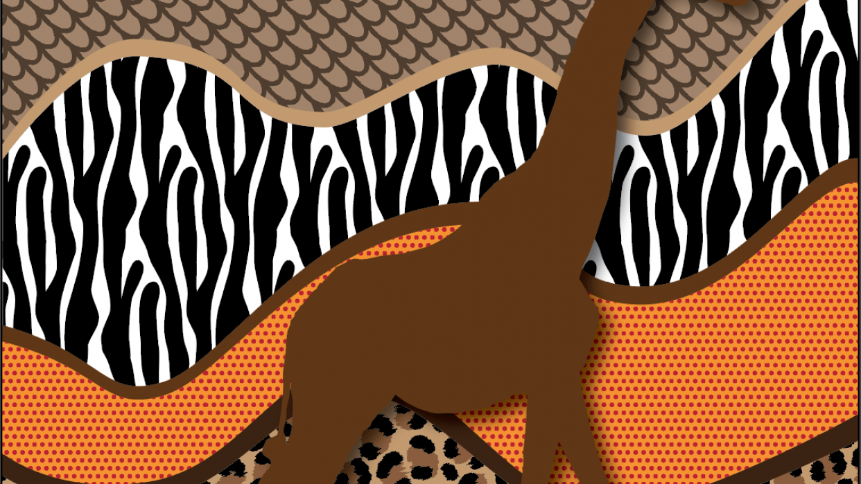 Gone on Safari right from my home! - student project