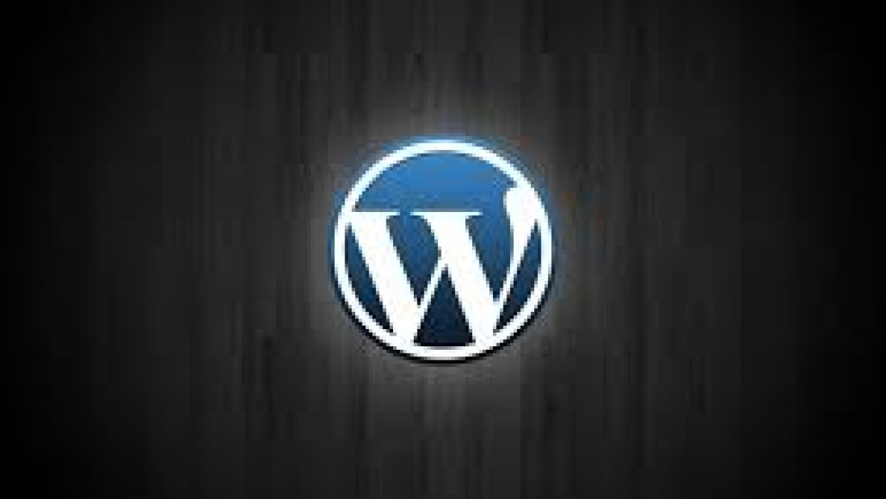 Create WordPress website from scratch and design your Logo for Free in less than 20 minutes. - student project