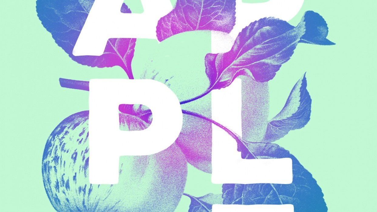 A is for Apple - student project