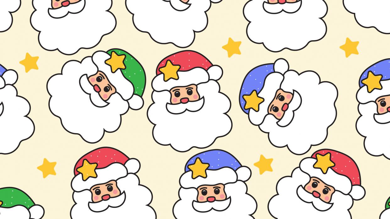 Santa Pattern - student project