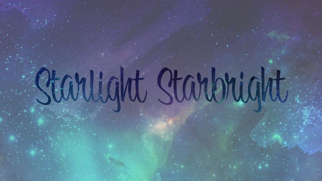 Starlight Starbright - student project