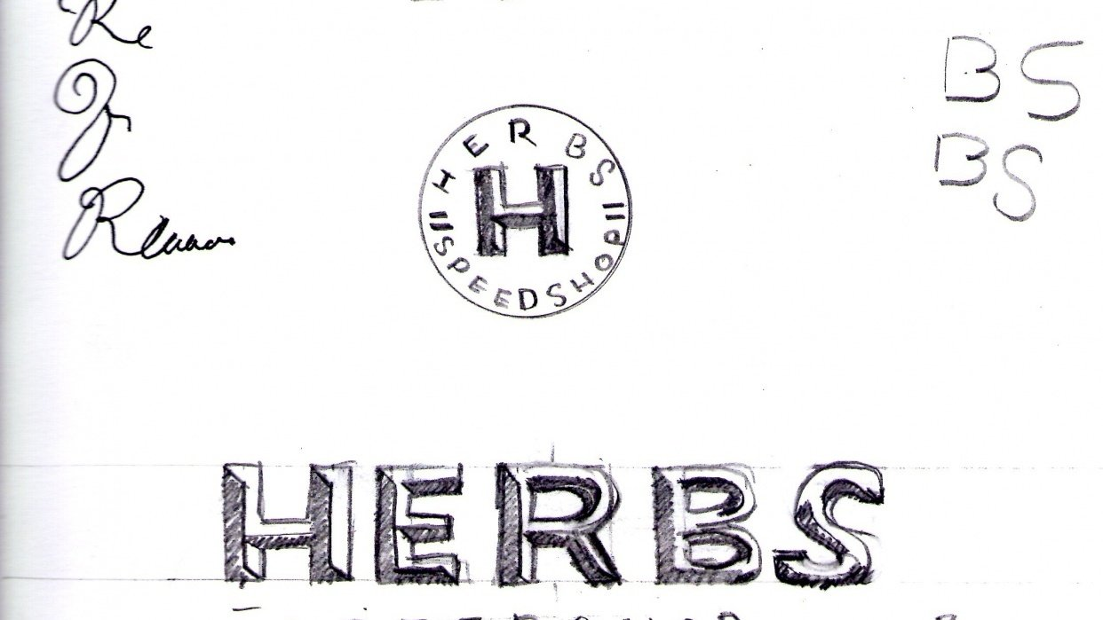 Herbs Speed Shop - The start of a passion project  - student project