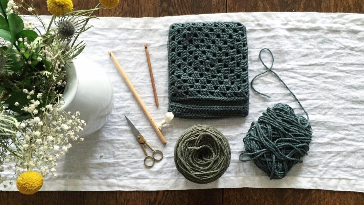 Essential Crochet Basics - student project