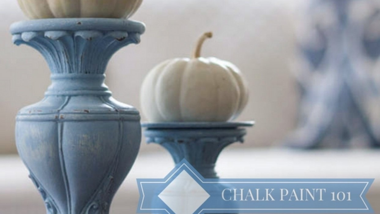 Chalk Paint 101: Painting a Project From Start to Finish - student project