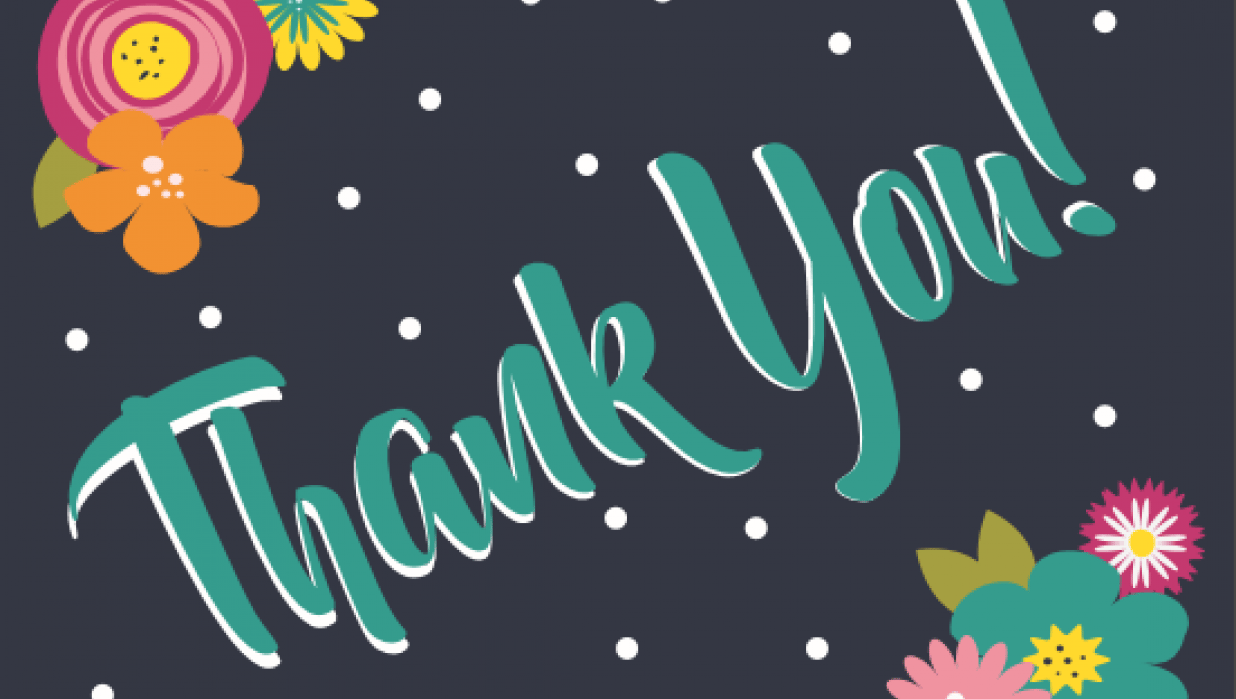 Thank you card  - student project