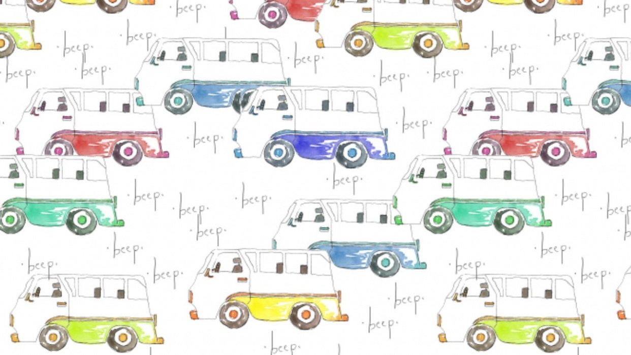 Beep beep! Turning painting into patterns - student project