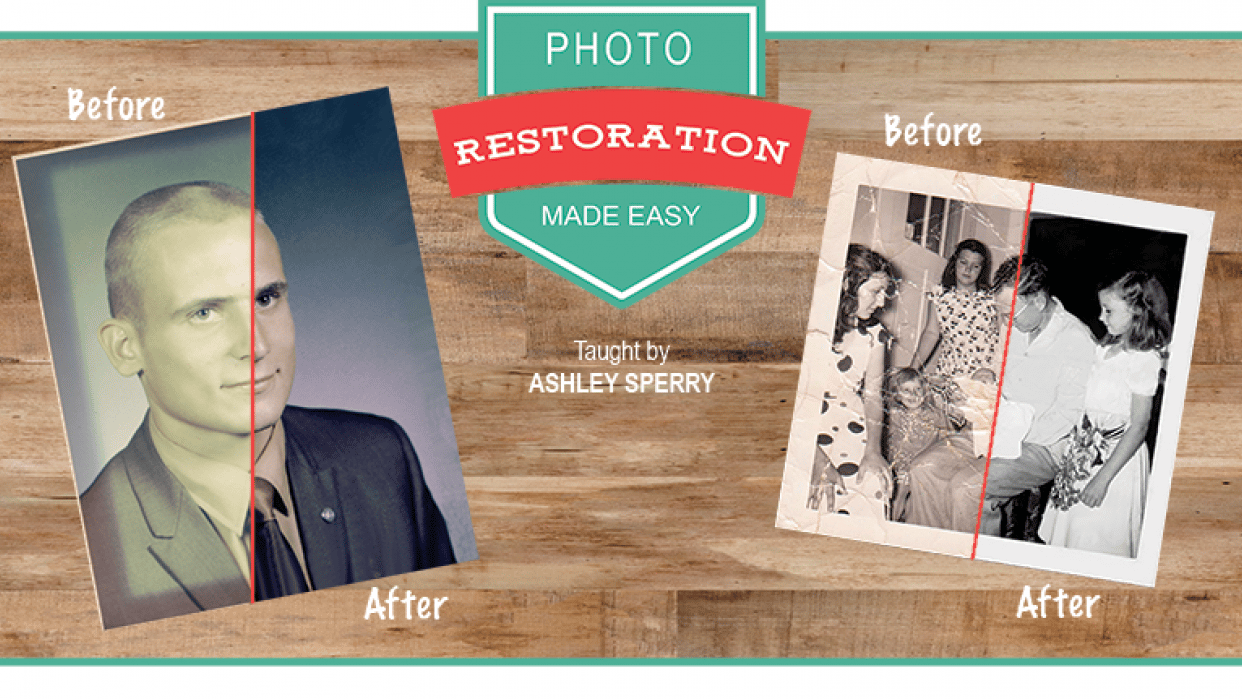 PUBLISHED - Photo Restoration Made Easy - student project