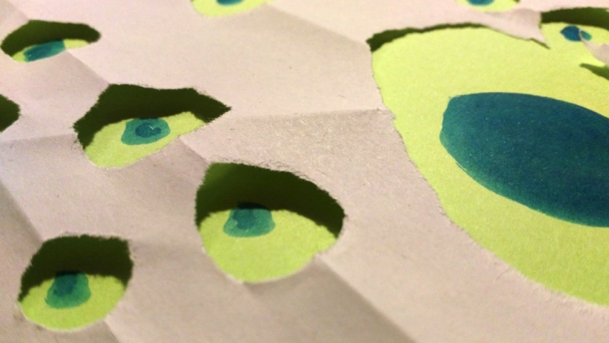 Paper dots - student project
