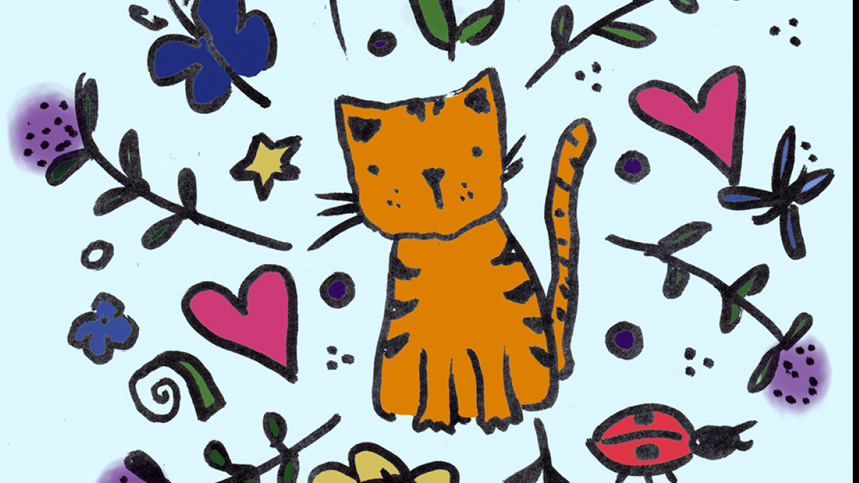 Kitty Motif - student project