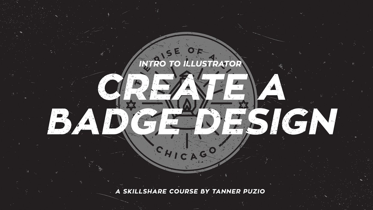 Intro to Illustrator: Create a Badge Design - student project