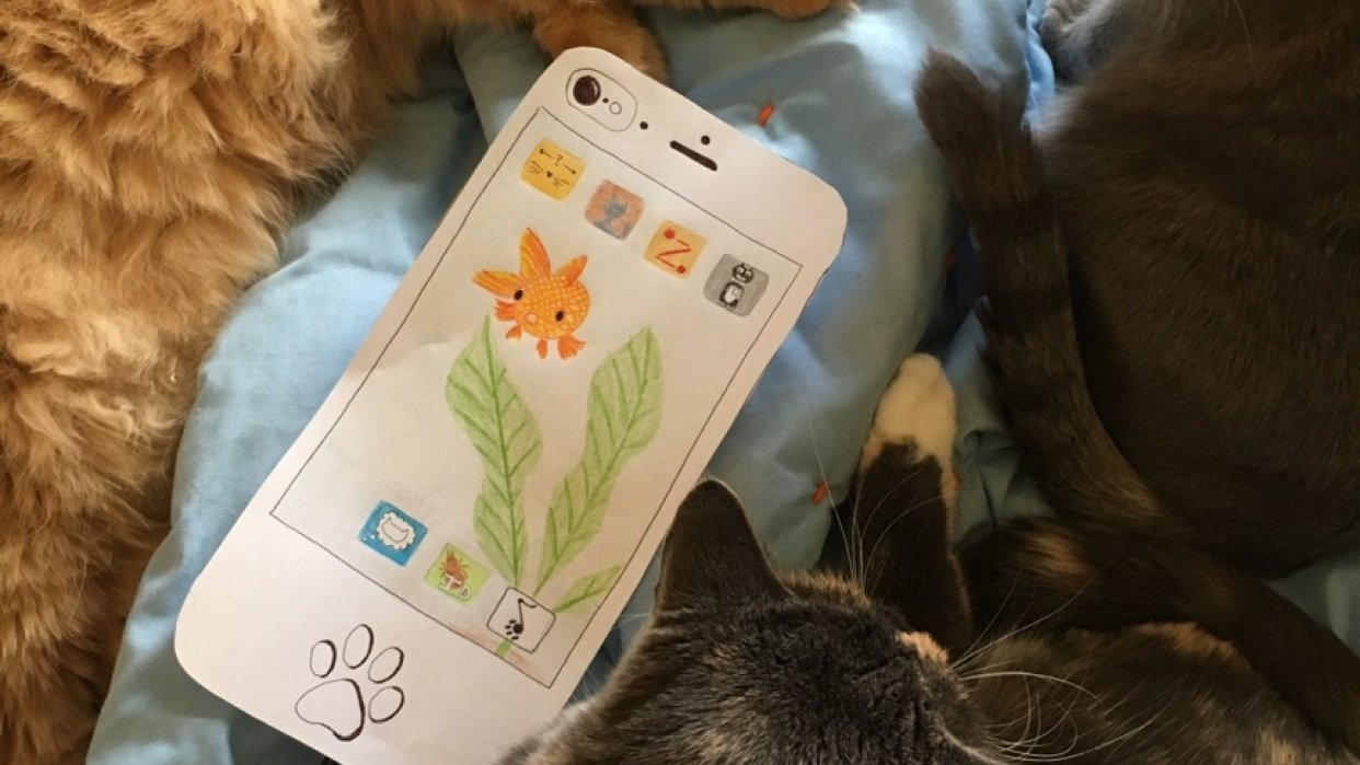 cat phone - student project