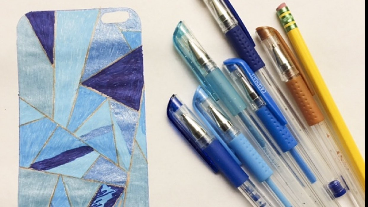 Shades of Blue - student project