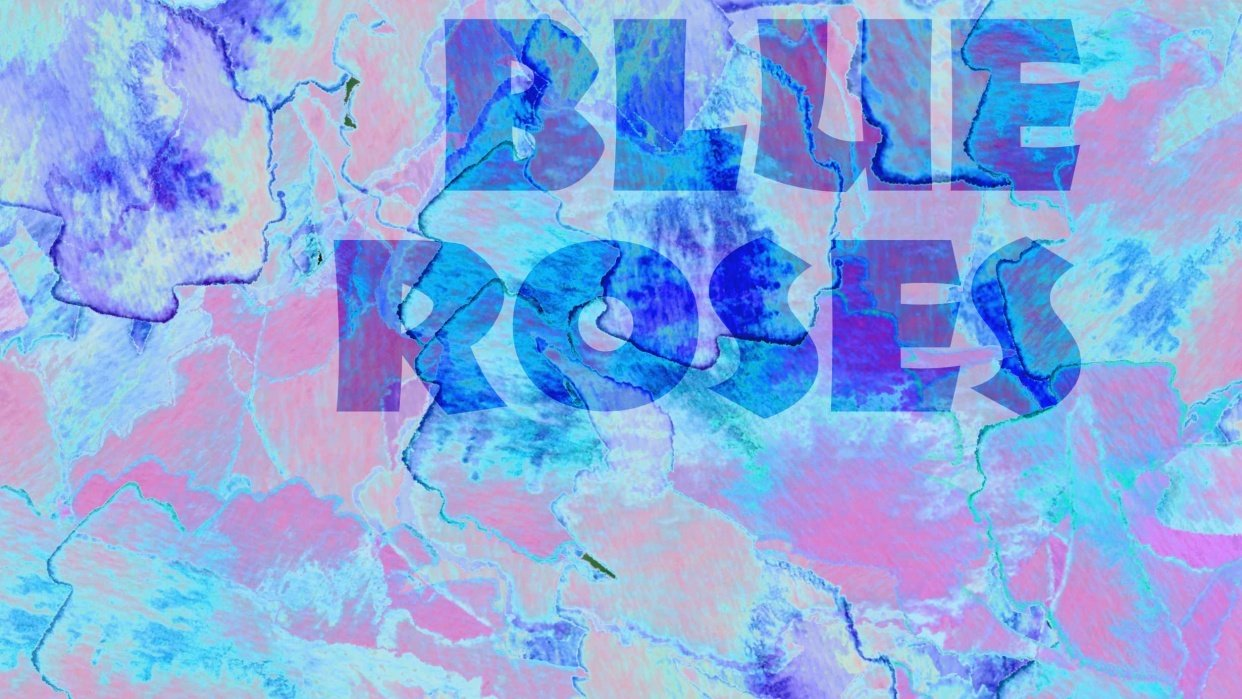 Blue Roses - student project