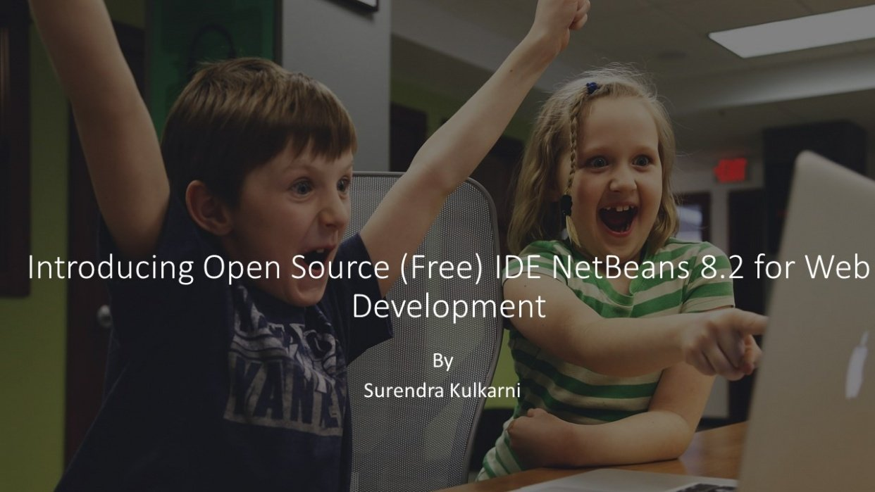 Introducing Open Source (free) IDE Netbeans for Web Development - student project