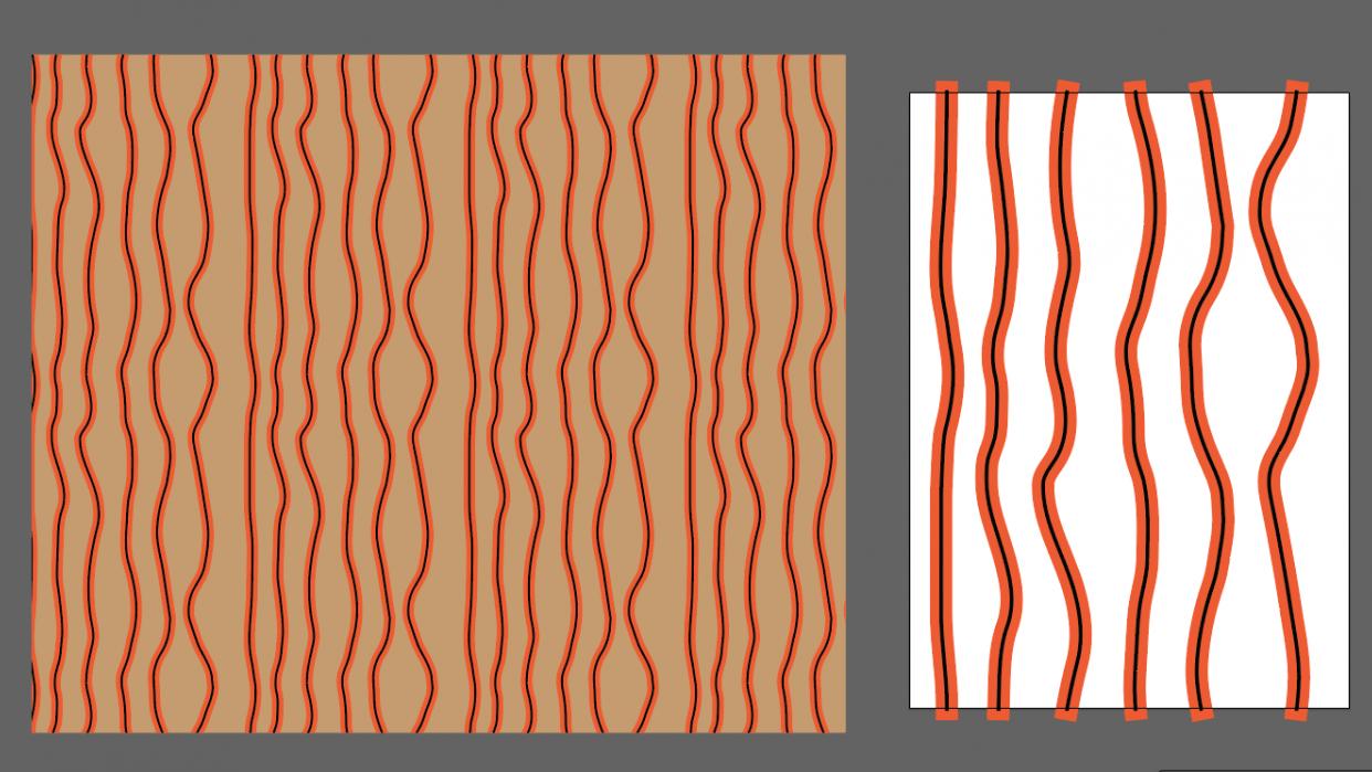 Wallpaper repeats - student project