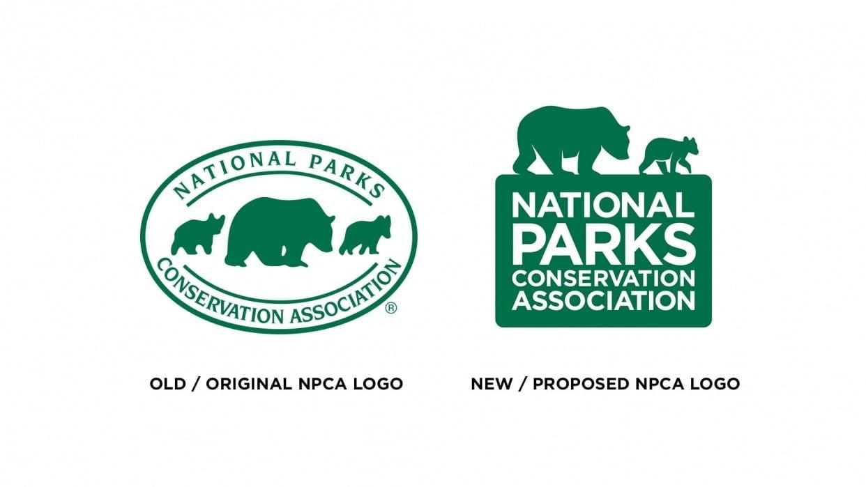 National Parks Conservation Association Logo Redesign - student project