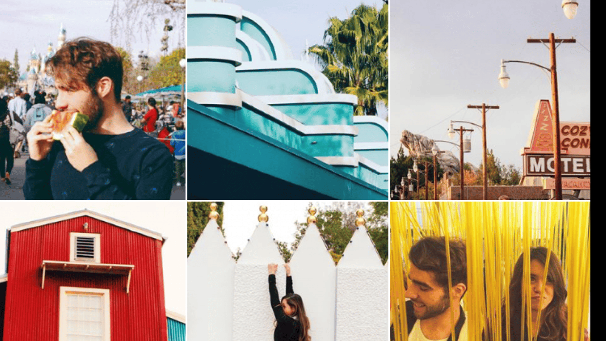 Photos that represent my instagram - student project