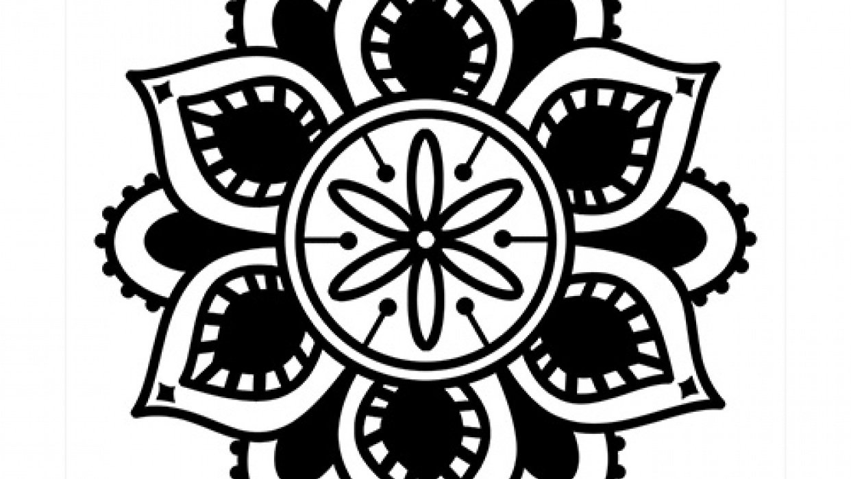 Mandalas in Photoshop - student project